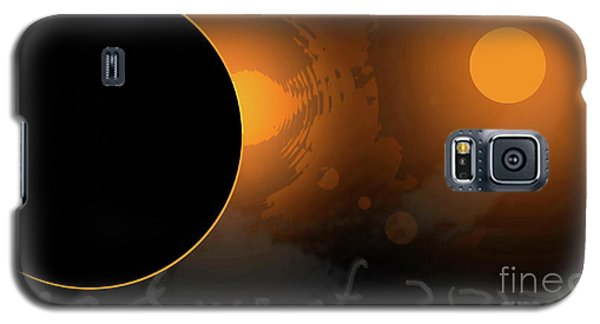 Eclipse Of 2017 W Galaxy S5 Case