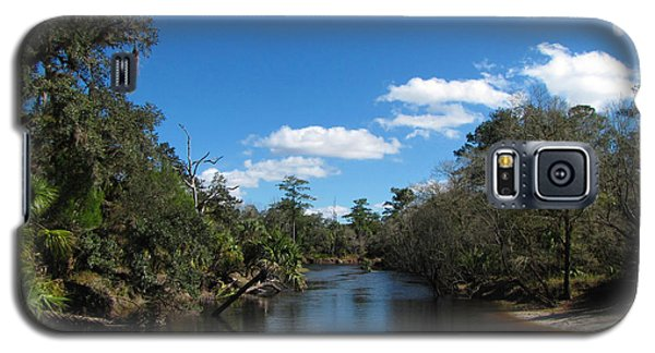 Galaxy S5 Case featuring the photograph Econlockhatchee River by Barbara Bowen