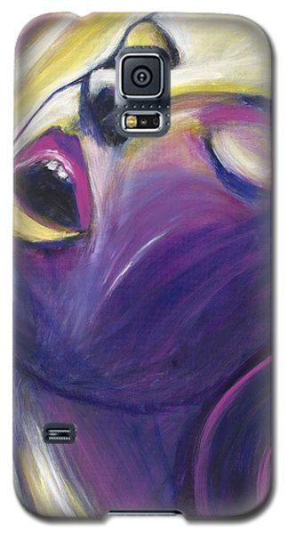 Galaxy S5 Case featuring the painting Ecstasy by Anya Heller