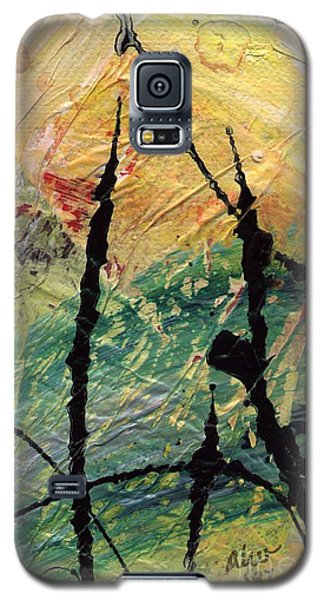 Galaxy S5 Case featuring the painting Ecstasy II by Angela L Walker