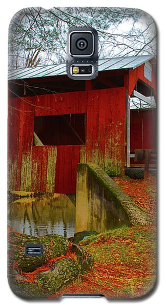 Ecther Covered Bridge Near Catawissa, Pa Galaxy S5 Case