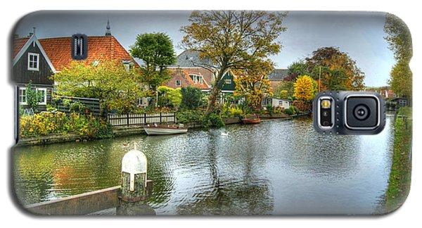 Edam Waterway In Holland Galaxy S5 Case