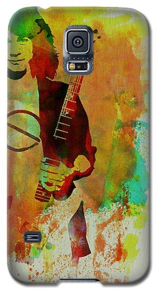 Eddie Van Halen Galaxy S5 Case by Naxart Studio
