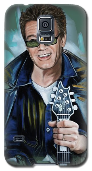 Eddie Van Halen Galaxy S5 Case by Melanie D