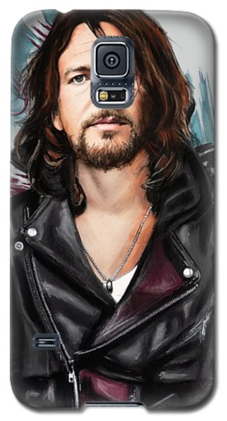 Neil Young Galaxy S5 Case - Eddie Vedder by Melanie D