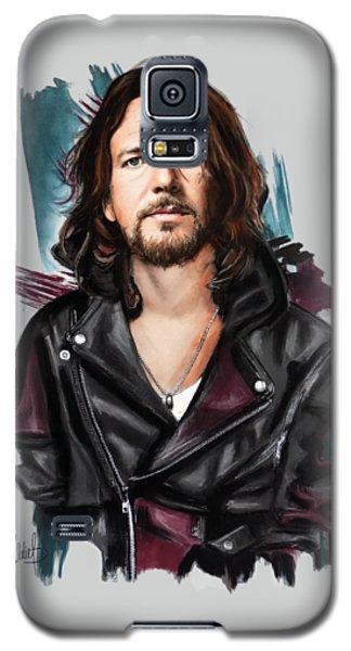 Eddie Vedder Galaxy S5 Case by Melanie D