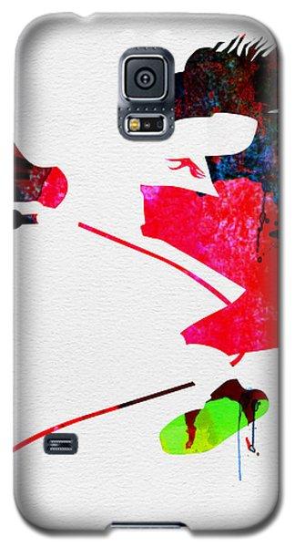 Eddie Watercolor Galaxy S5 Case by Naxart Studio