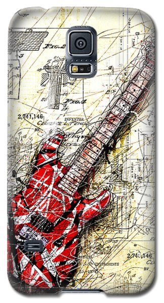 Eddie's Guitar 3 Galaxy S5 Case by Gary Bodnar