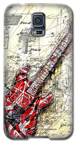Guitar Galaxy S5 Case - Eddie's Guitar 3 by Gary Bodnar