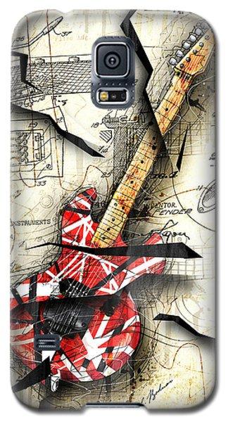 Eddie's Guitar Galaxy S5 Case
