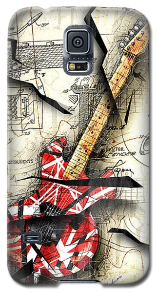 Abstract Galaxy S5 Case - Eddie's Guitar by Gary Bodnar