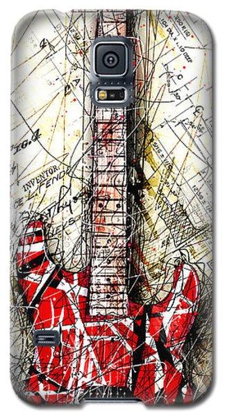 Eddie's Guitar Vert 1a Galaxy S5 Case