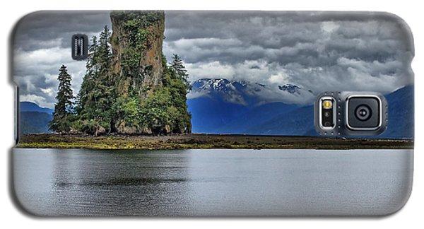 Eddystone Rock In Misty Fjords National Monument Galaxy S5 Case by Farol Tomson