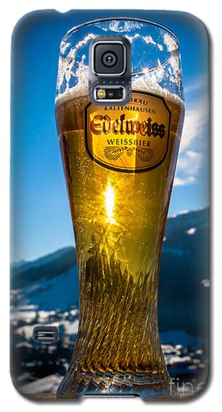 Edelweiss Beer In Kirchberg Austria Galaxy S5 Case