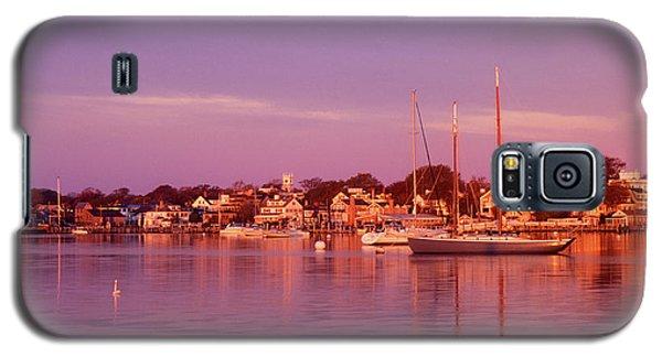 Edgartown Harbor Galaxy S5 Case