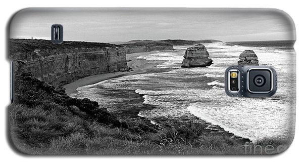 Edge Of A Continent Bw Galaxy S5 Case