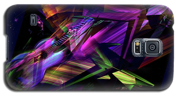 Galaxy S5 Case featuring the painting Edge Of The Universe by DC Langer