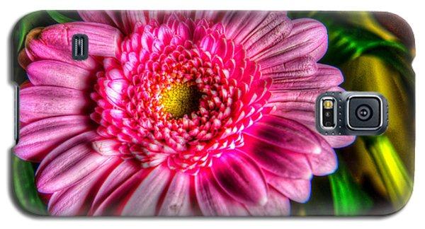 Edgy Pink Daisy Galaxy S5 Case