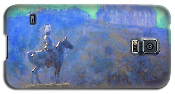 Edinburgh Castle Horse Statue Galaxy S5 Case