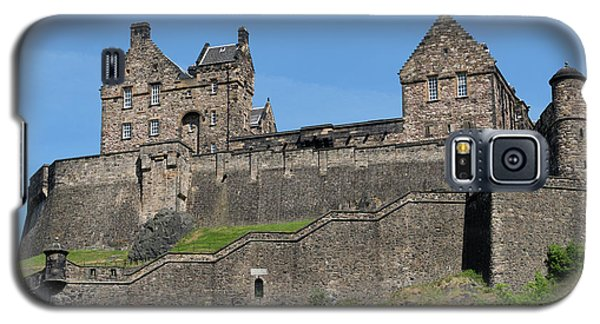 Galaxy S5 Case featuring the photograph Edinburgh Castle by Jeremy Lavender Photography