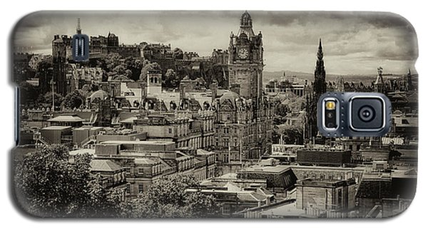 Galaxy S5 Case featuring the photograph Edinburgh In Scotland by Jeremy Lavender Photography