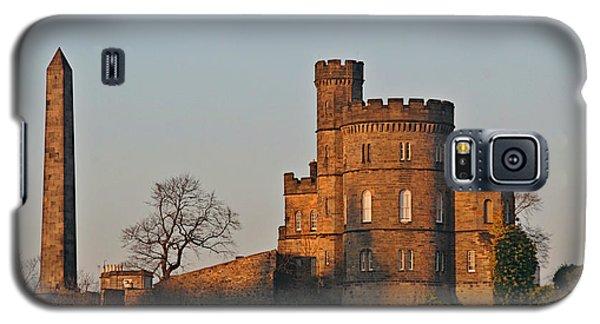 Edinburgh Scotland - Governors House And Obelisk Calton Hill Galaxy S5 Case