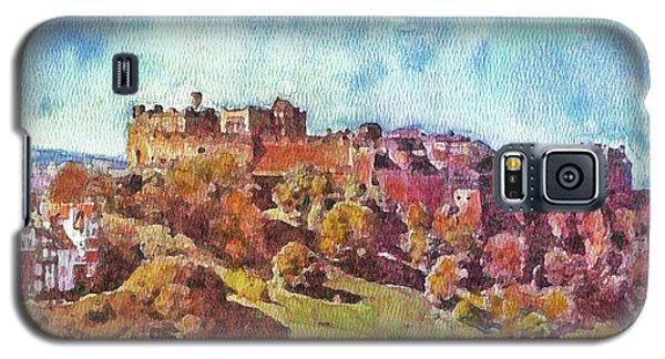 Edinburgh Skyline No 1 Galaxy S5 Case by Richard James Digance
