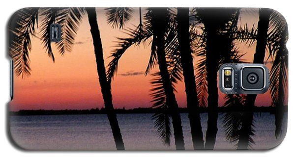 Galaxy S5 Case featuring the photograph Edison Sunset by Rosalie Scanlon