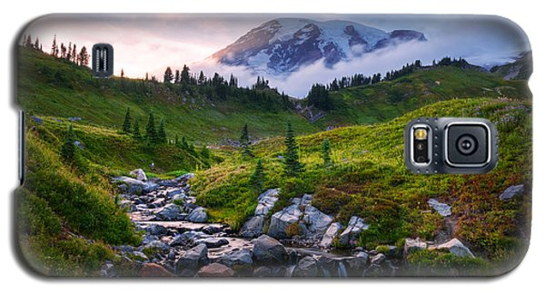 Edith Creek Sunset Galaxy S5 Case