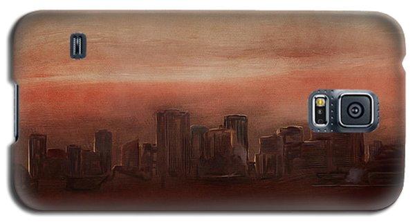 Edmonton At Sunset Galaxy S5 Case