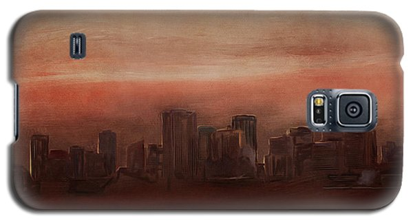 Edmonton At Sunset Galaxy S5 Case