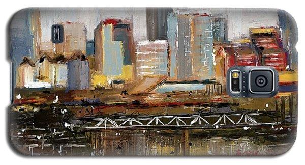 Edmonton Skyline Abstract1 Galaxy S5 Case