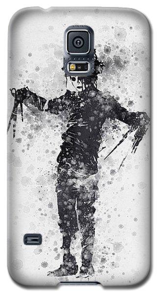 Johnny Depp Galaxy S5 Case - Edward Scissorhands 01 by Aged Pixel