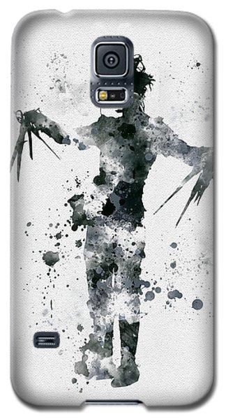 Edward Scissorhands Galaxy S5 Case by Rebecca Jenkins