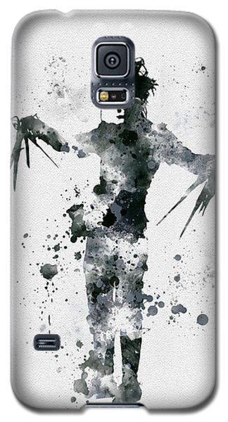 Johnny Depp Galaxy S5 Case - Edward Scissorhands by Rebecca Jenkins