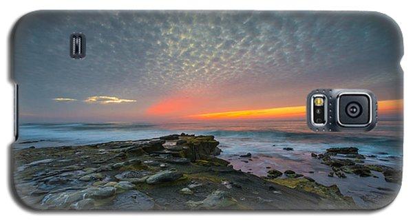 Eerie Sunset La Jolla Cove San Diego Galaxy S5 Case
