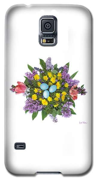 Eggs In Dandelions, Lilacs, Violets And Tulips Galaxy S5 Case