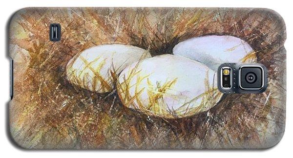 Eggs On Straw Galaxy S5 Case