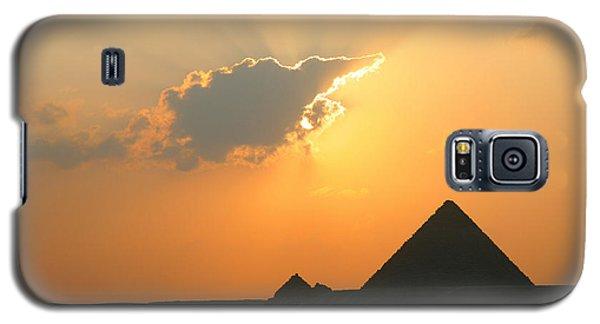 Egpytian Sunset Behind Cloud Galaxy S5 Case
