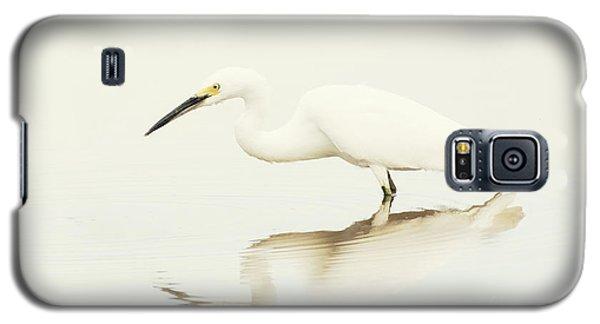 Egret In Vanilla Tones Galaxy S5 Case by Ruth Jolly