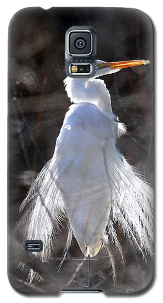 Egret Galaxy S5 Case by Irina Hays