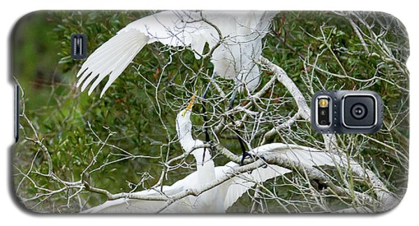 Egret Rumble Galaxy S5 Case by George Randy Bass