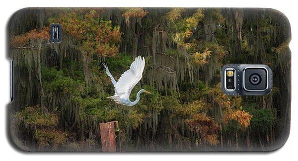 Egret Sanctuary Galaxy S5 Case