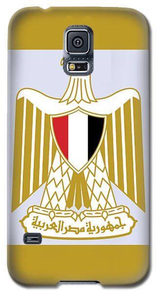Egypt Coat Of Arms Galaxy S5 Case by Movie Poster Prints