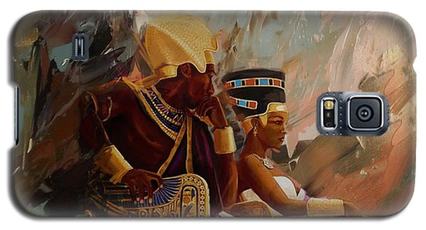 Phoenix Galaxy S5 Case - Egyptian Culture 44b by Corporate Art Task Force