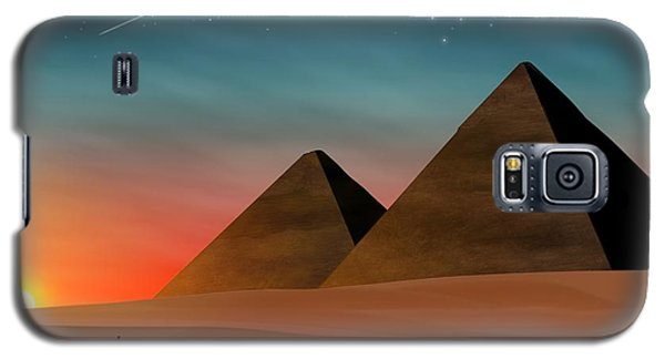 Egyptian Pyramids Galaxy S5 Case