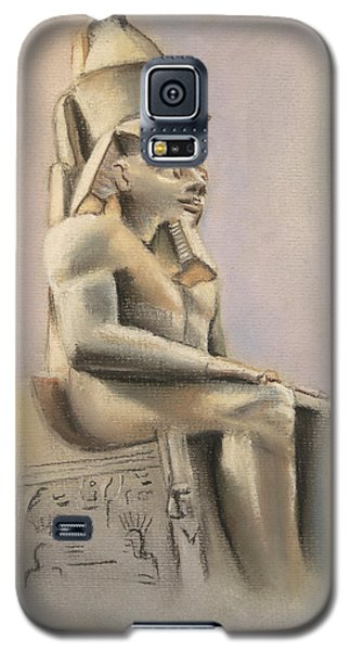 Galaxy S5 Case featuring the pastel Egyptian Study II by Elizabeth Lock