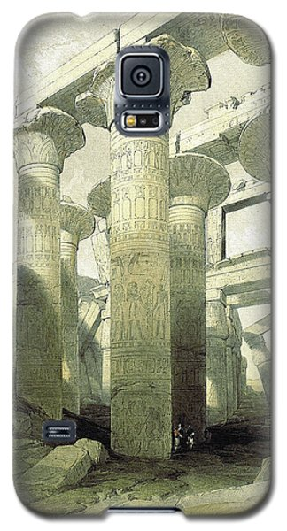 Egyptian Temple No 3 Galaxy S5 Case