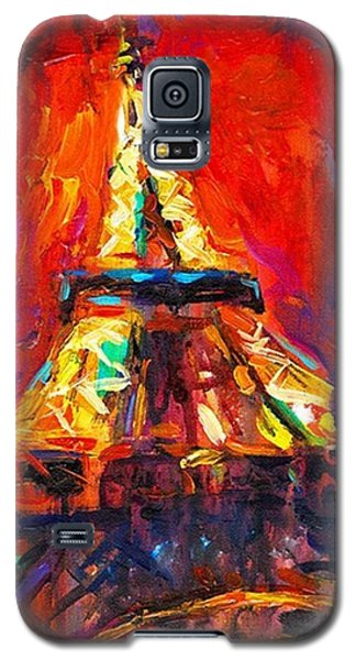 Famous Artist Galaxy S5 Case - Eifell Tower By Svetlana Novikova ( All by Svetlana Novikova