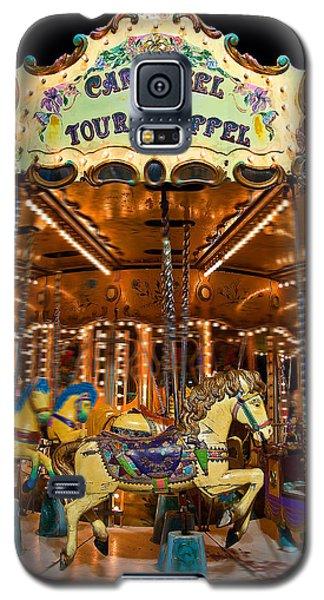 Eiffel Carrousel Galaxy S5 Case by Harry Spitz